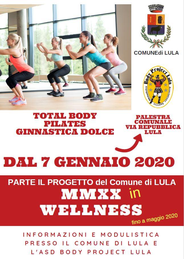 Attività Sportive 2019/2020: MMXX in WELLNESS