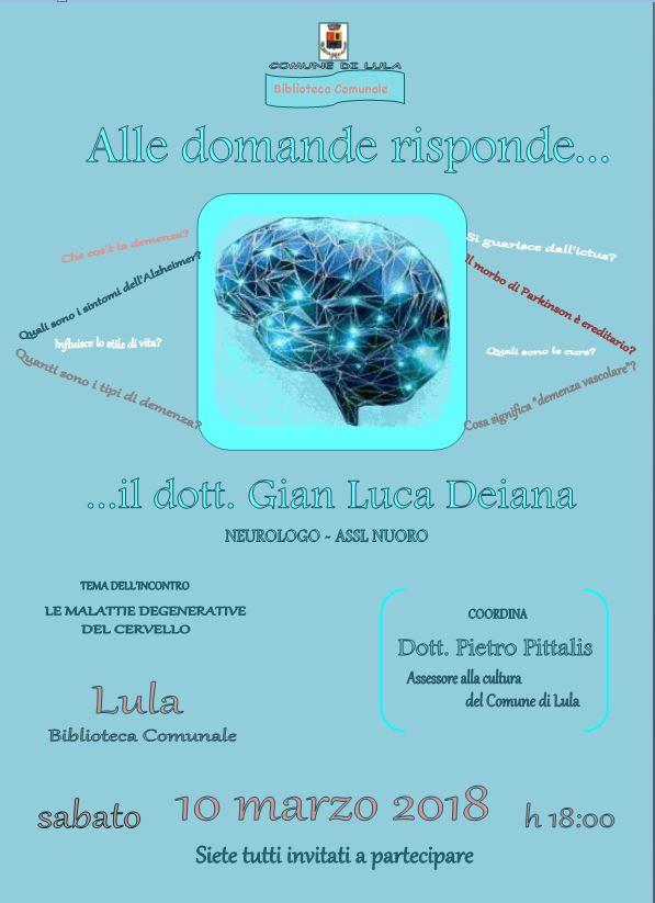 Alle domande risponde... il dottor Gian Luca Deiana