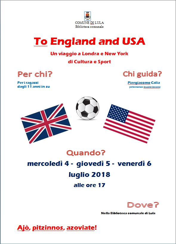 To England and USA - Un viaggio a Londra e New York di cultura e sport
